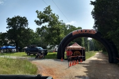 Red Clay Start Line